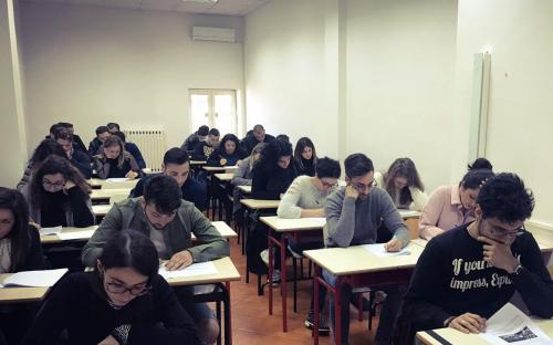 Candidatos del examen E1C19 en Nápoles